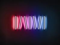 WM: Dan Flavin Inspired