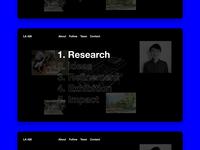 Design Process Website Mockup