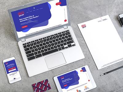 OhBeton Branding webdesign branding naming