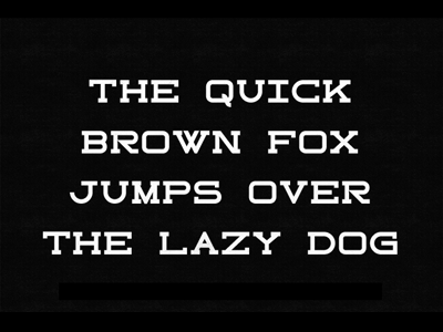 Nixon font