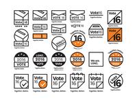 Vote 2016 Logo