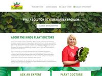 Kings Plant Barn Doctor Microsite