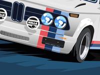 BMW Tour Auto 2017 poster rough