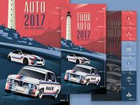 BMW Tour Auto 2017 Poster
