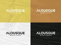 Alousque Logo board
