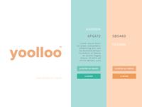 Yoolloo Color Palette