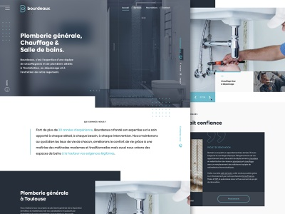 Bourdeaux webdesign
