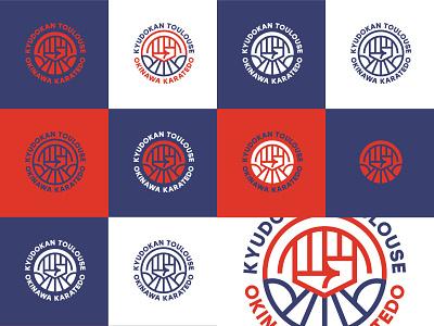 KT Karate club logo club logo