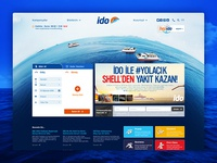 ido - Istanbul sea bus / Web Pages