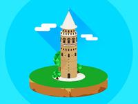 Galata Tower / Istanbul / Turkey