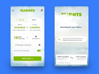Flight App airport airline booking flight app