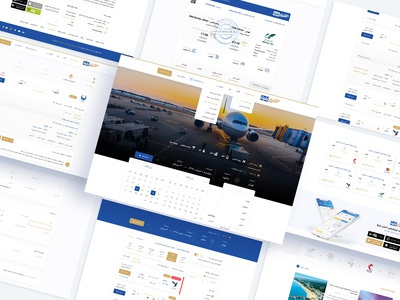 Asanbilit آسان بلیط بلیط هواپیما airline booking ticket booking ticket asanbilit airport airplane air design graphic branding dashboard clean wordpress theme ux ui