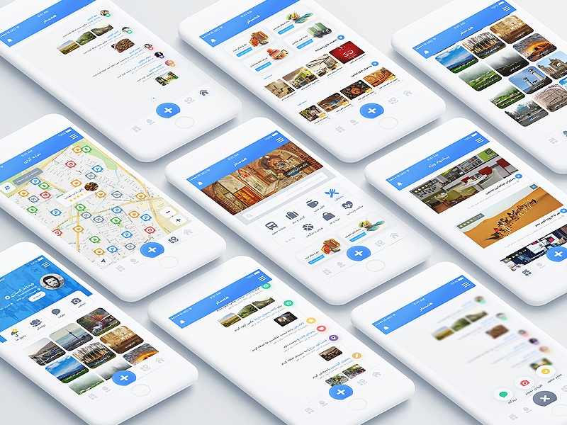Hamsafar hamsafar app booking design hotel reservation traveler ui ux tourism