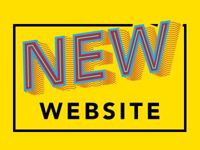 The new SMILE website typography avenir drop shadow
