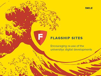 Flagship Slide slide the great wave off kanagawa