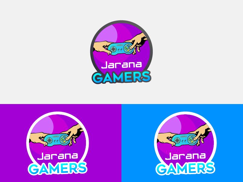Jarana Gamer approved logo design videogames gamer cafe logo cafe cibercafe logo gamer logo
