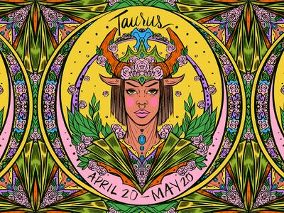 Daily ZODIAC Sketch - #5 - Taurus