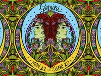 Daily ZODIAC Sketch - #6 - Gemini