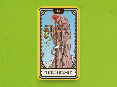 Tarot Card Series 1: 9 The Hermit