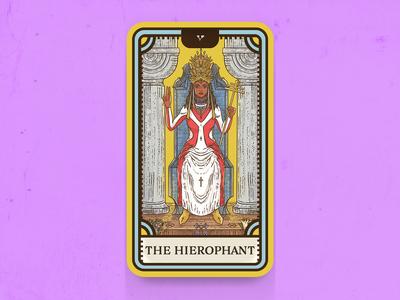 Tarot Card Series 1: 5 The Hierophant