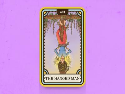 Tarot Card Series 1: 12 The Hanged Man