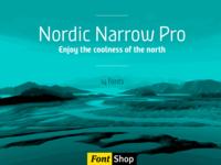 Nordic Narrow on Fontshop