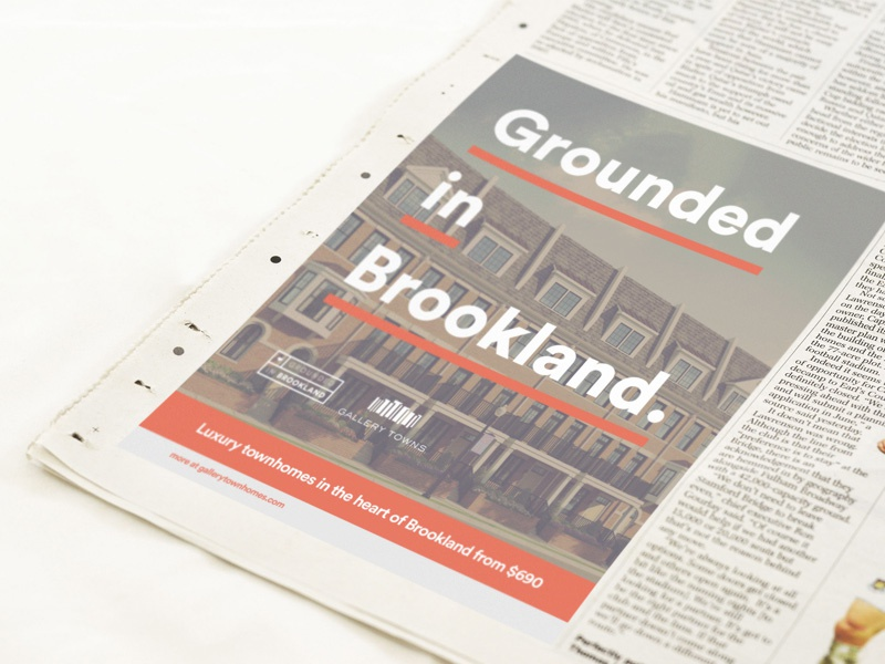 Newspaper Ad newspaper dc advertising campaign bookland branding
