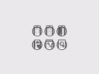Pitch icons