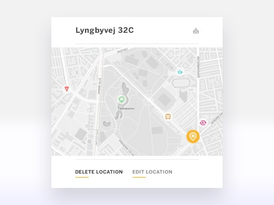 Location Tracker dailychallenge message popup tracker location userinterface ux ui dailyui