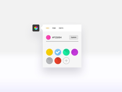 Color Picker picker color userinterface ux ui dailyui