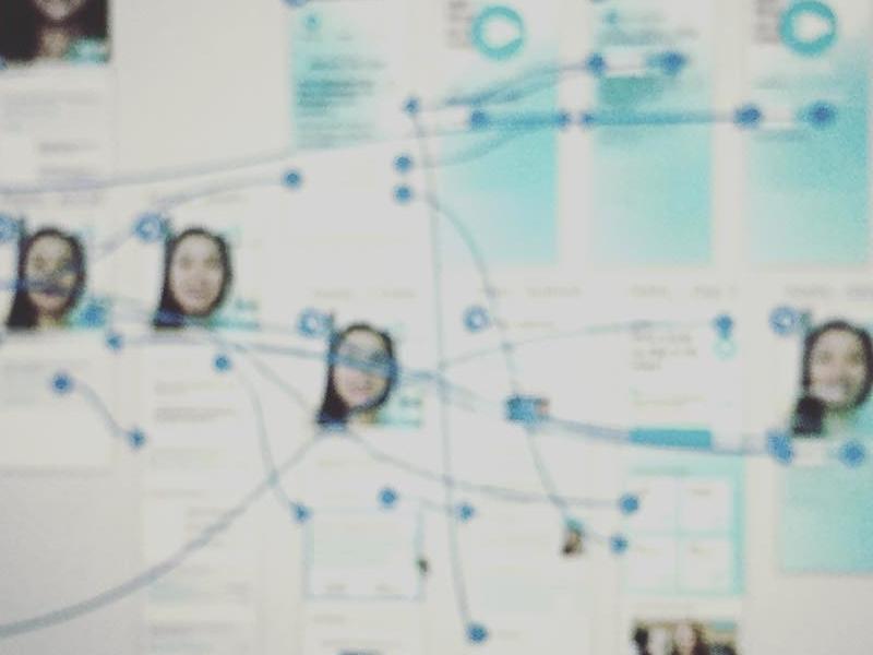 Fintech Hackathon 2017 - GoLive - Realtime User Engagement App design app design ux