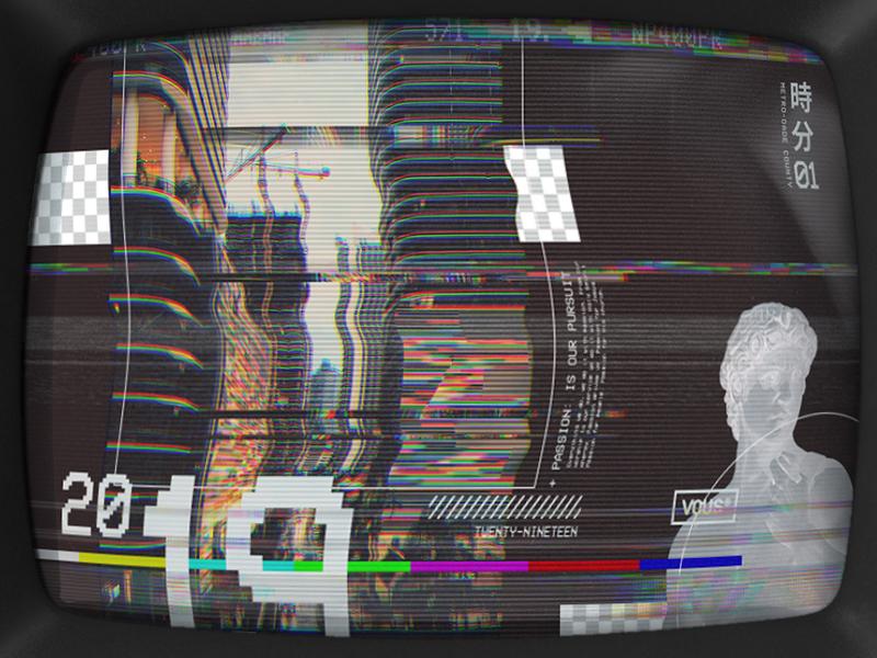 Vous szn3 vhsaesthetic concept