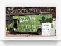 Rambler Website Mockup