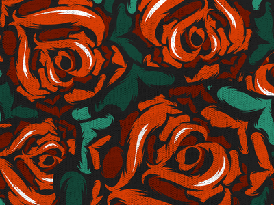 Roses and roses vector educastellanos illustrator bezier textures dots green red colourful rose roses texture
