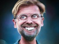 Big heads Jurgen Klopp