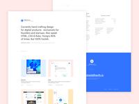 Personal Website 2017