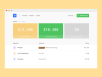Invoicing Dashboard