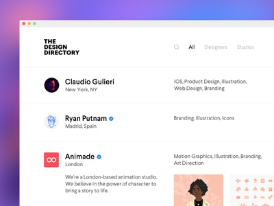 The Design Directory