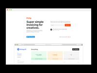 Invoy — Alpha Launch minimal app web bill invoy invoice