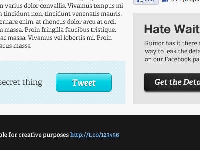 Twitter Feedback Bar (Part 2) form twitter feedback buttons