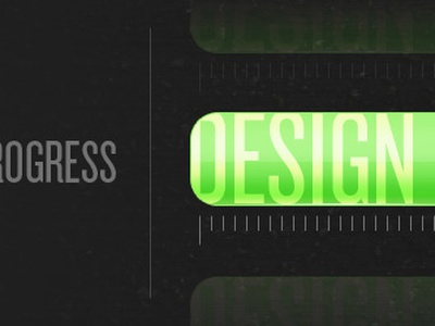 Process Bar Cycle progressbar green black condensedtype