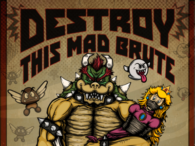 Destroy This Mad Brute: Enlist!