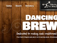 Dancing Man Brewery Homepage