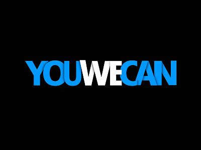 You We Can - Logotype cancer foundation yuvraj singh youwecan logo design logotype brand identity branding