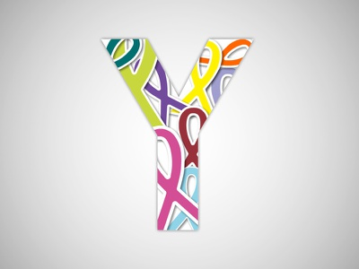 You We Can - Logo cancer foundation yuvraj singh youwecan logo design logo brand identity branding