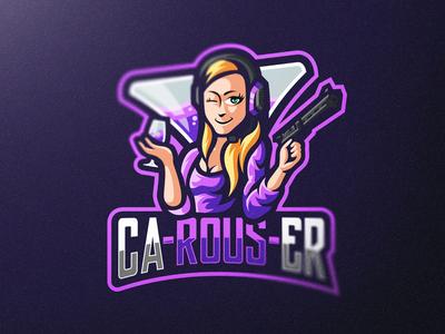 Carouser Mascot Logo Design