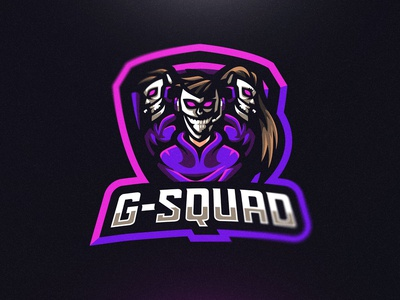 G-Squad Mascot Logo Design