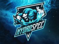 Hydrospec Mascot logo design