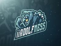 Bear Mascot Logo Design