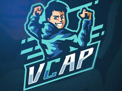 Vcap Mascot Logo Design